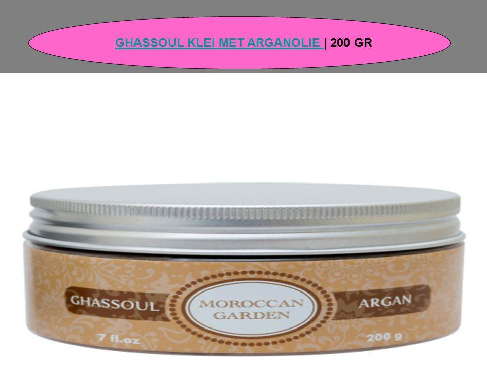GHASSOUL KLEI MET ARGANOLIE GHASSOUL KLEI MET ARGANOLIE | 200 GR