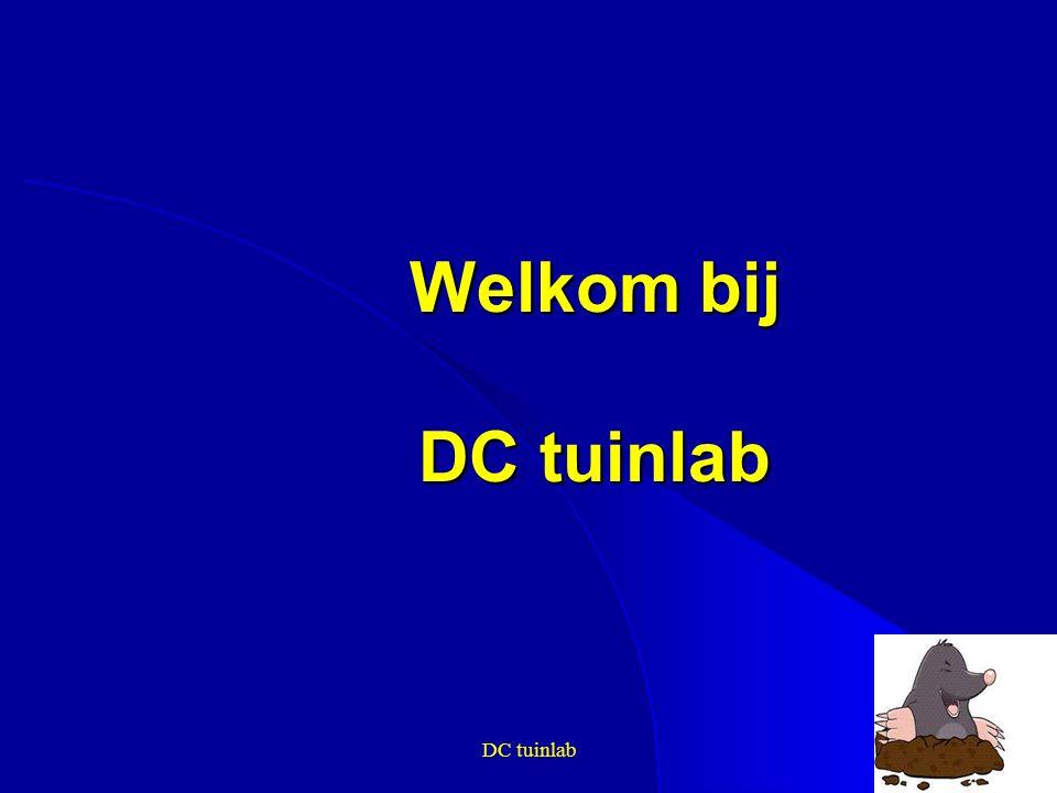 DC tuinlab1 Welkom bij DC tuinlab