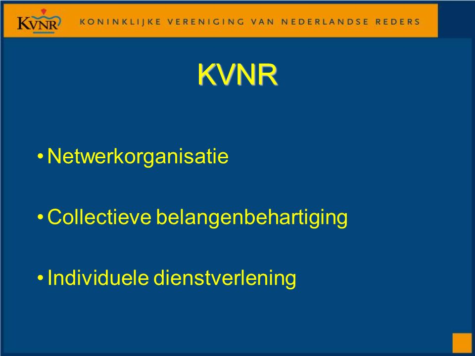 KVNR Netwerkorganisatie Collectieve belangenbehartiging Individuele dienstverlening