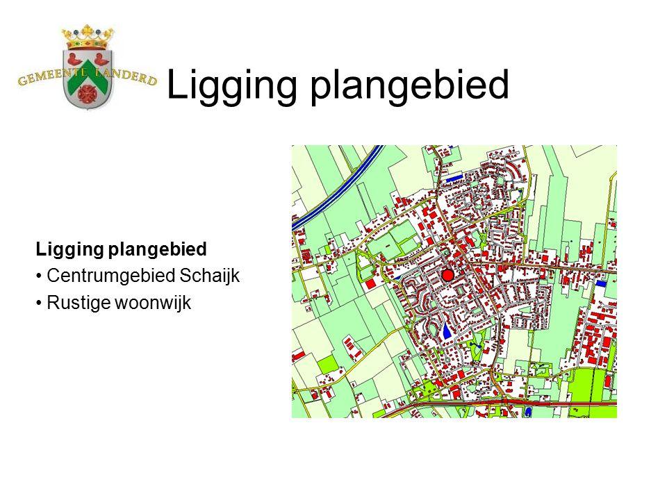 Ligging plangebied Centrumgebied Schaijk Rustige woonwijk