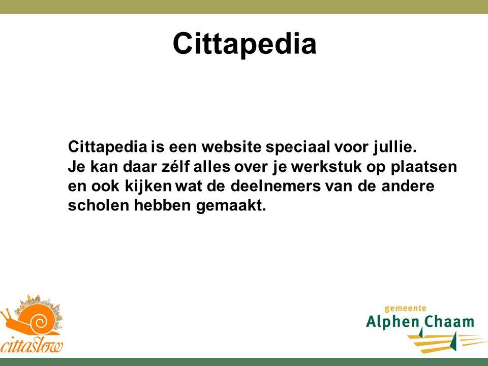 Cittapedia is een website speciaal voor jullie.
