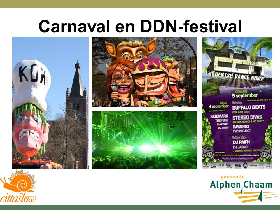 Carnaval en DDN-festival