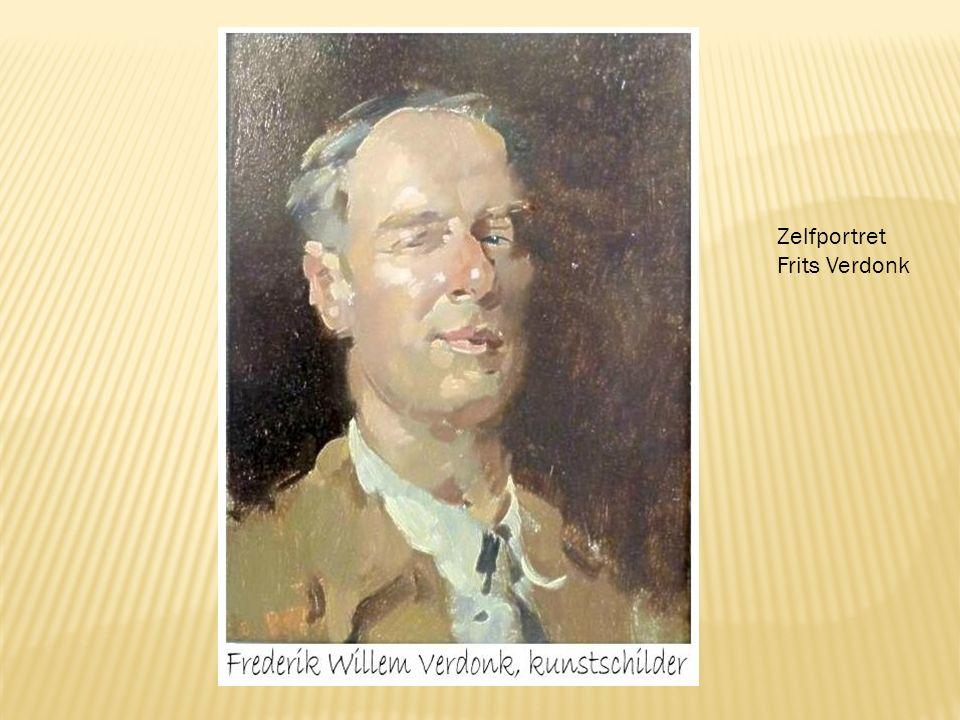 Zelfportret Frits Verdonk