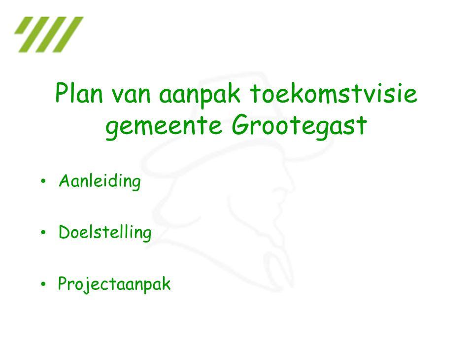 Aanleiding Doelstelling Projectaanpak