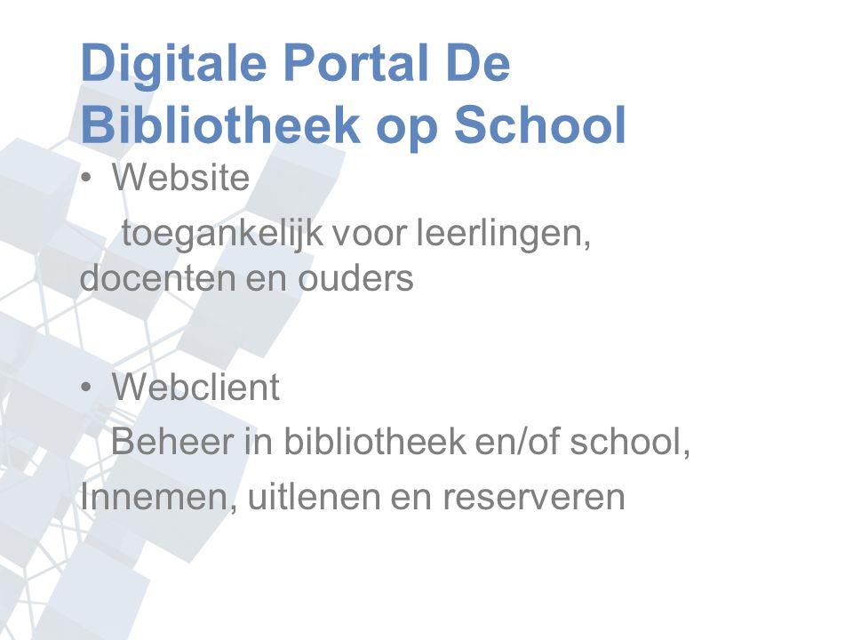 Modellen schoolWise Schoolbibliotheek Mediatheek voor meerdere scholen Mediatheek in combinatie met bibliotheek na schooltijd Webshop Website zonder fysieke bibliotheek in de school