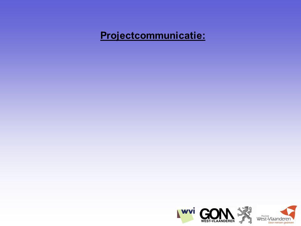 Projectcommunicatie: