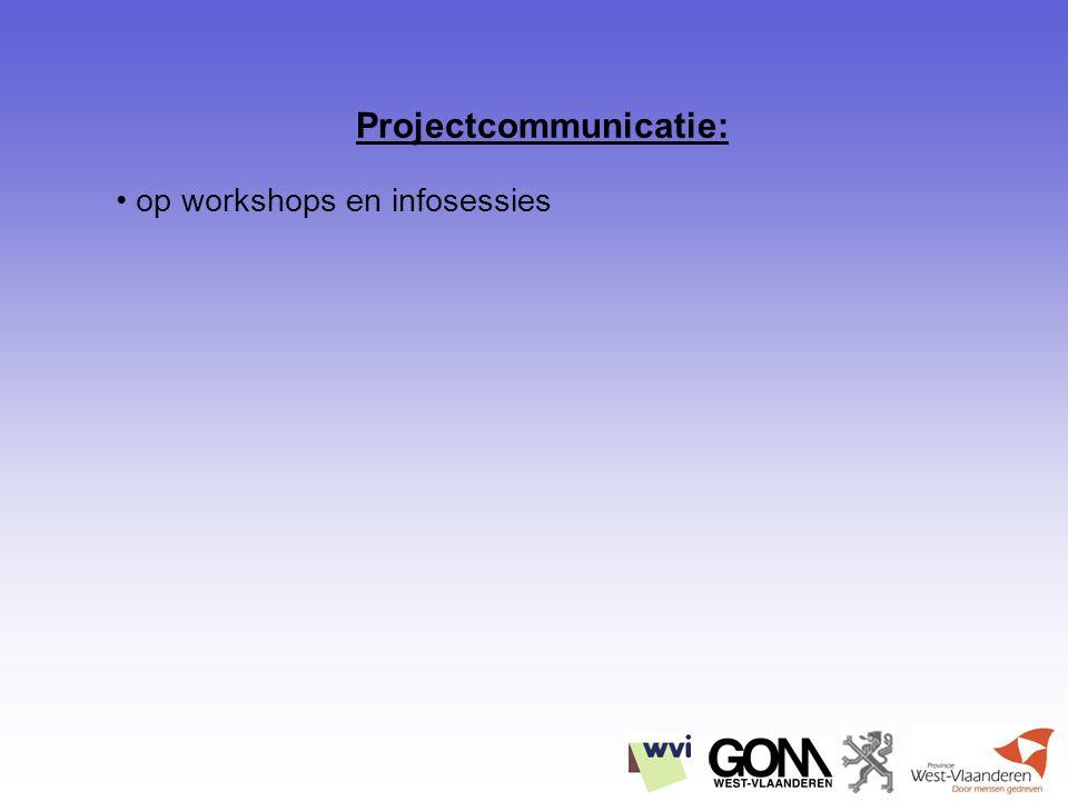 op workshops en infosessies