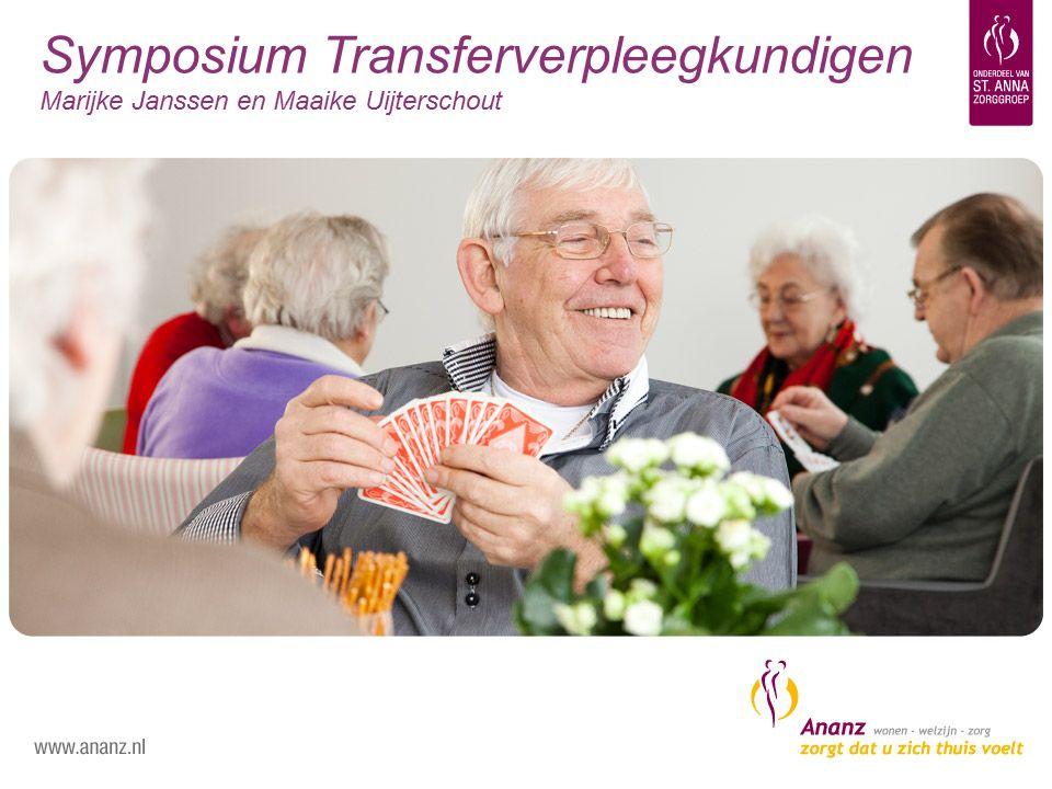 Symposium Transferverpleegkundigen Marijke Janssen en Maaike Uijterschout