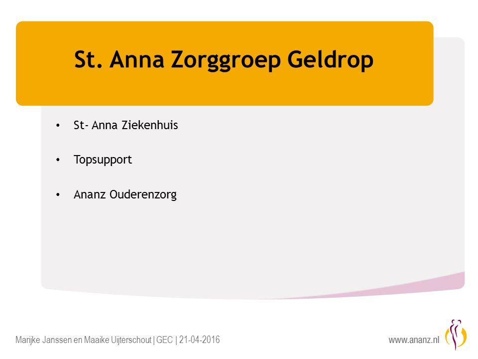 Marijke Janssen en Maaike Uijterschout | GEC | 21-04-2016 St.