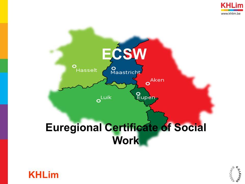 ECSW Euregional Certificate of Social Work KHLim