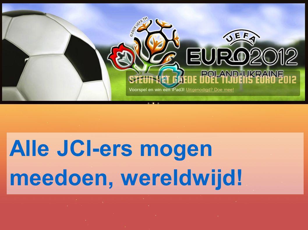 Alle JCI-ers mogen meedoen, wereldwijd!