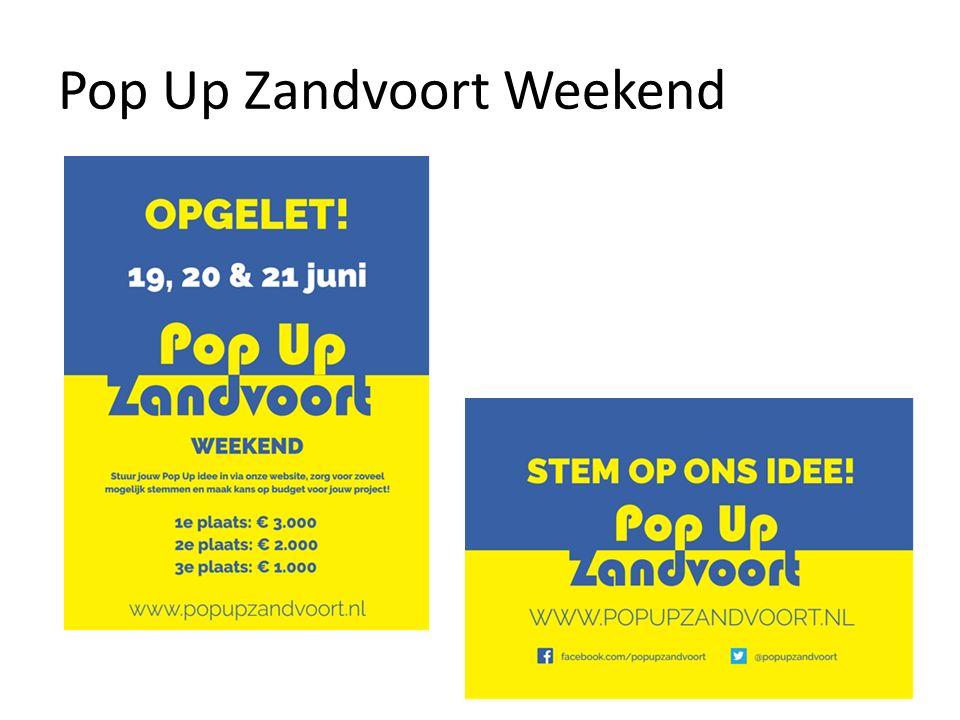 Pop Up Zandvoort Weekend