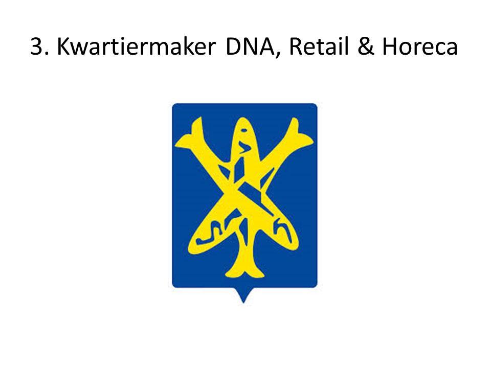 3. Kwartiermaker DNA, Retail & Horeca
