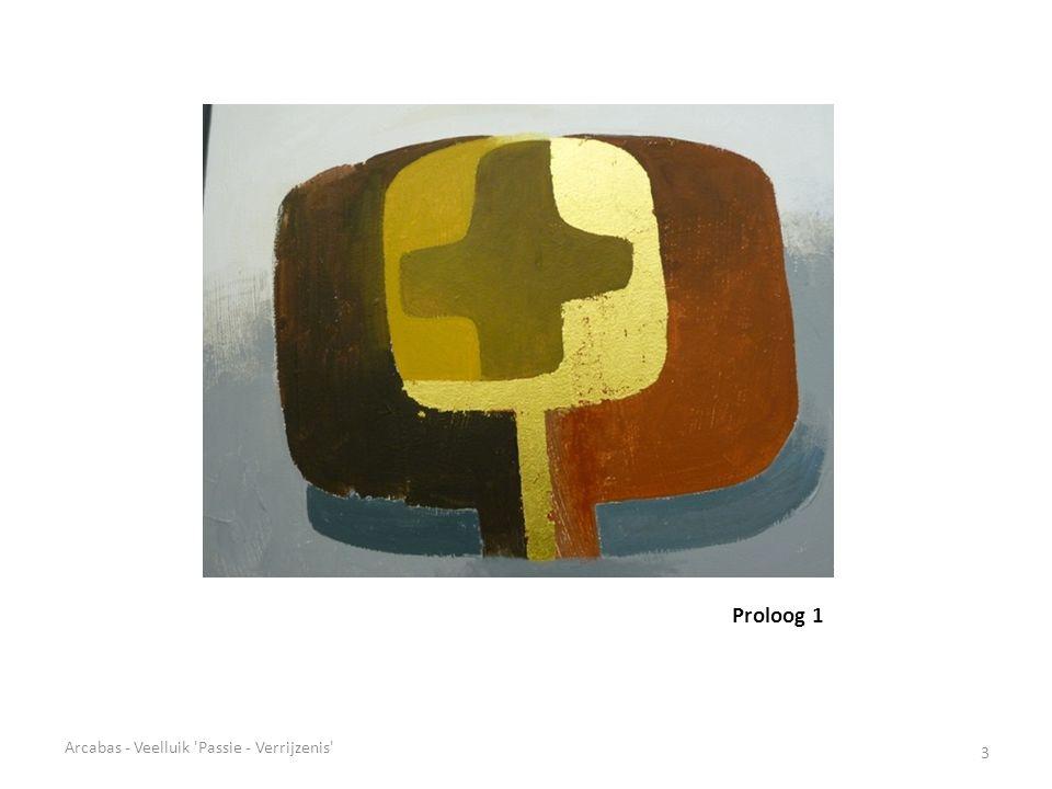 Proloog 1 3 Arcabas - Veelluik Passie - Verrijzenis
