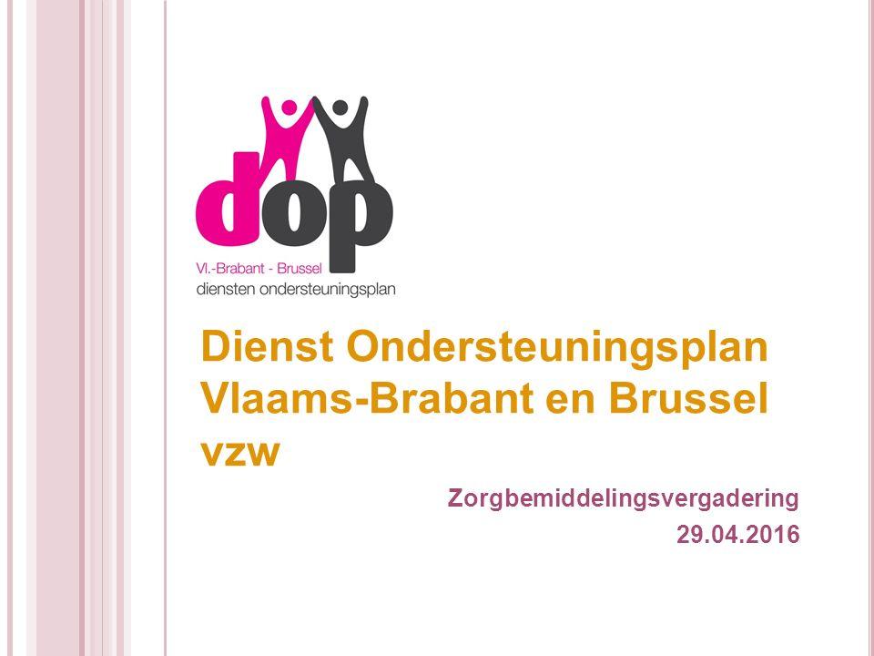 Dienst Ondersteuningsplan Vlaams-Brabant en Brussel vzw Zorgbemiddelingsvergadering 29.04.2016