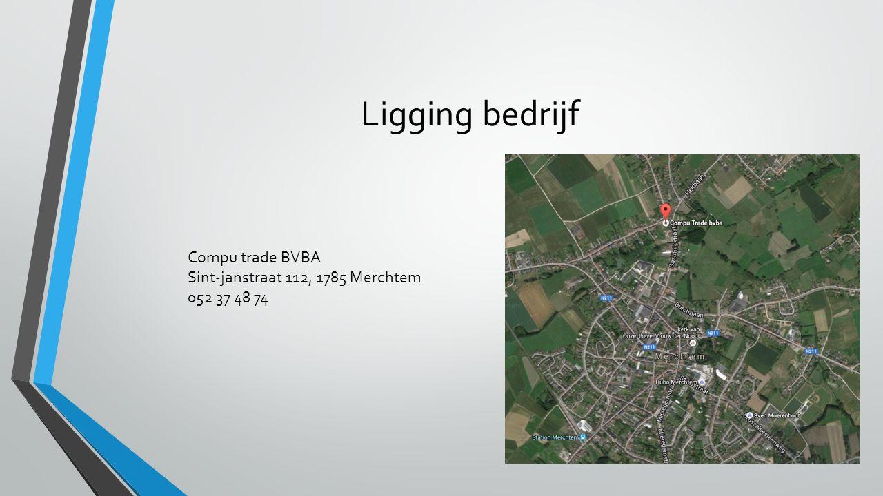 Ligging bedrijf Compu trade BVBA Sint-janstraat 112, 1785 Merchtem 052 37 48 74