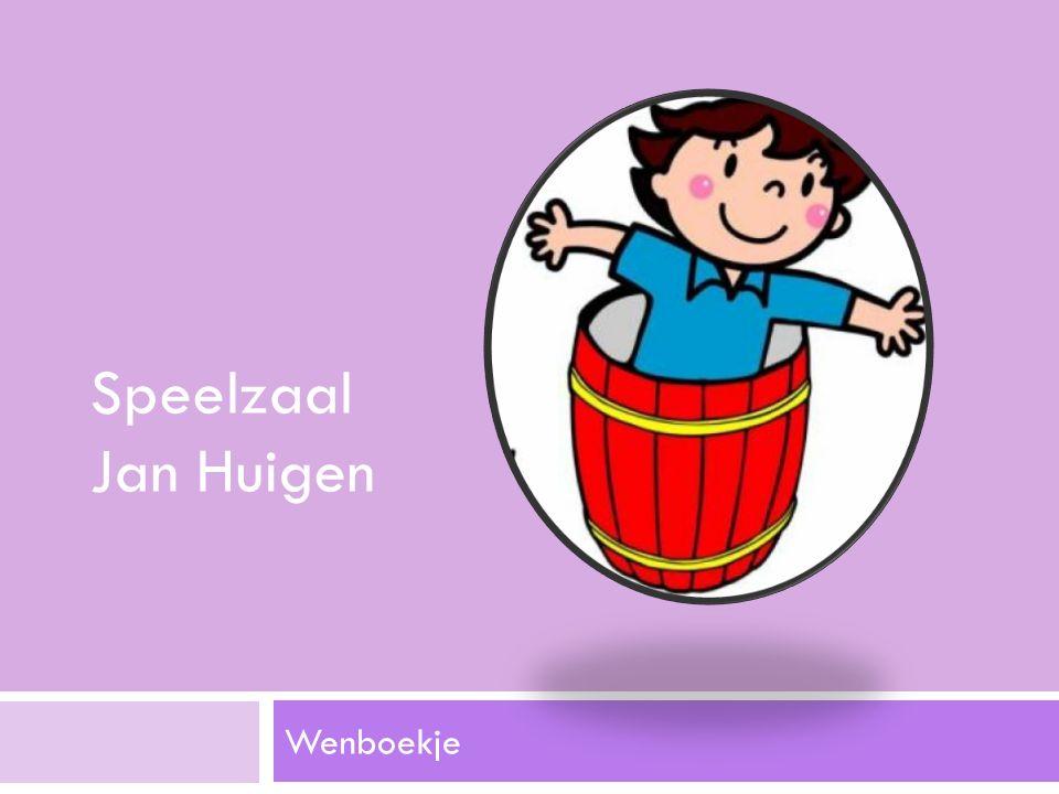 Wenboekje Speelzaal Jan Huigen