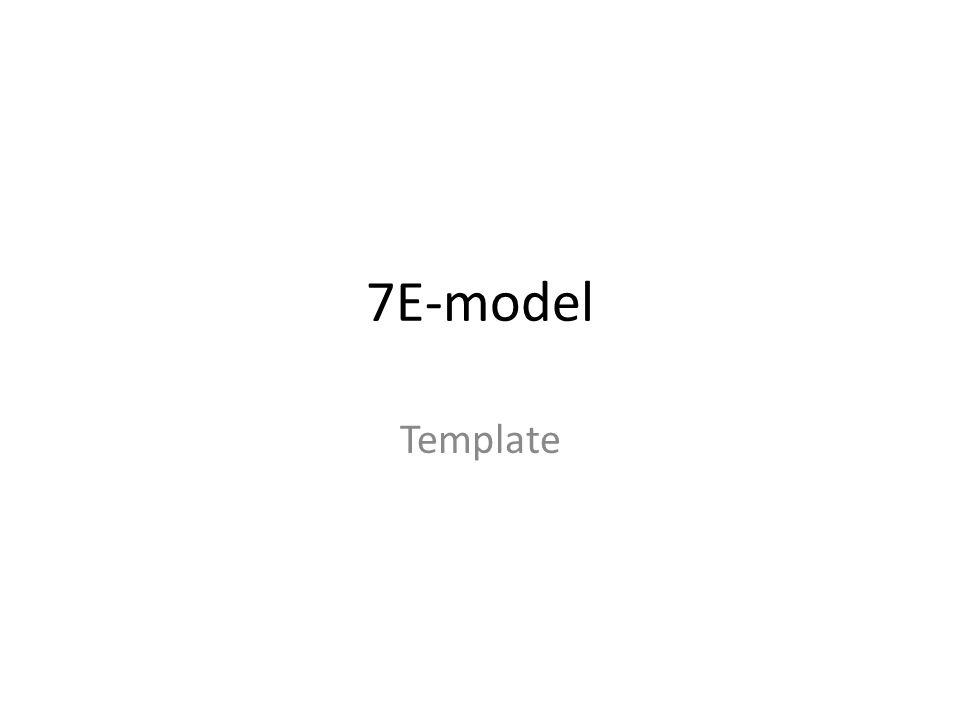7E-model Template