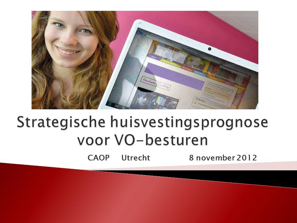  32 besturen VO-scholen, ROC's en lerarenopleidingen in provincie Utrecht  Diverse projecten m.b.t.
