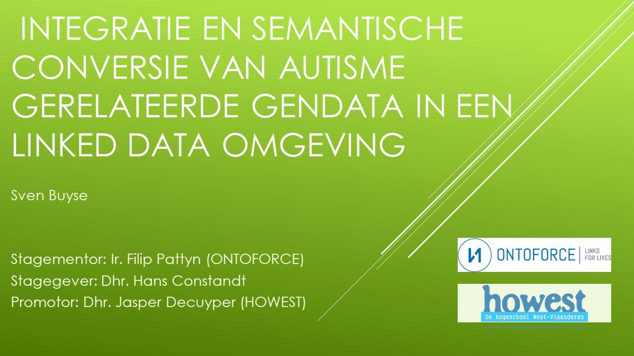 CONCLUSIE 12 -Data werd verkregen van AutDB en SfariGene via scraping -Geconverteerd naar CSV-formaat -Hierna werd data omgezet in RDF-formaat -Triples werden verkregen -DISQOVER bied sorteringsmogelijkheid  ONDERZOEKSVRAAG positief beantwoord