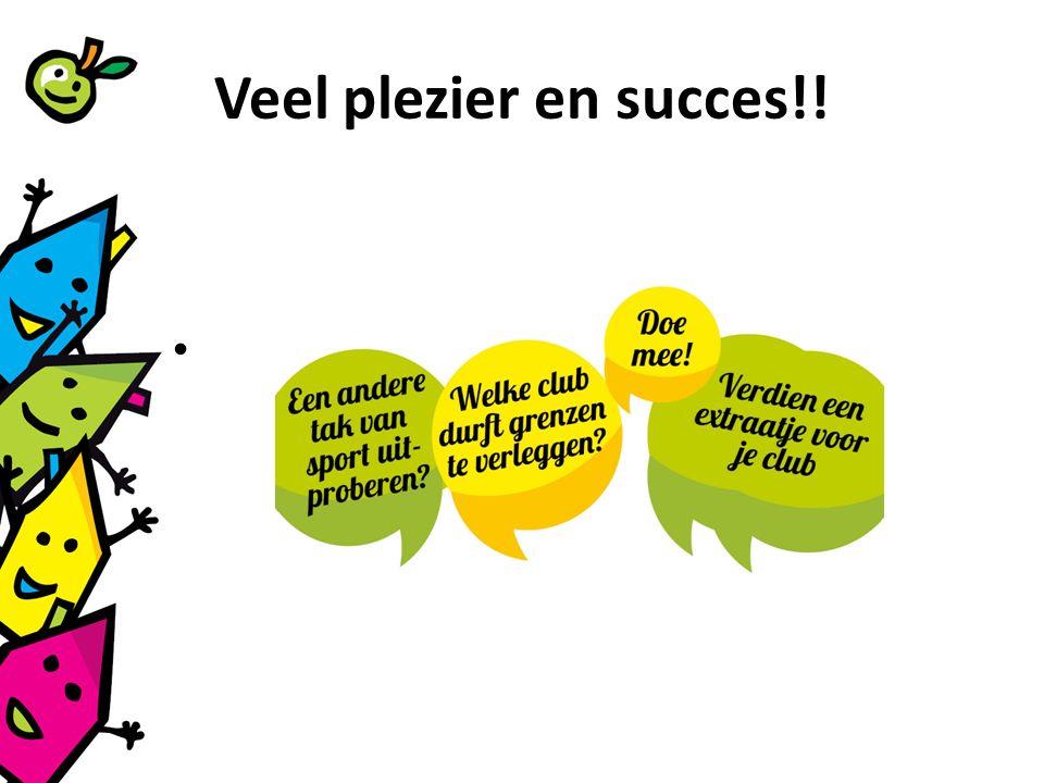 Veel plezier en succes!!