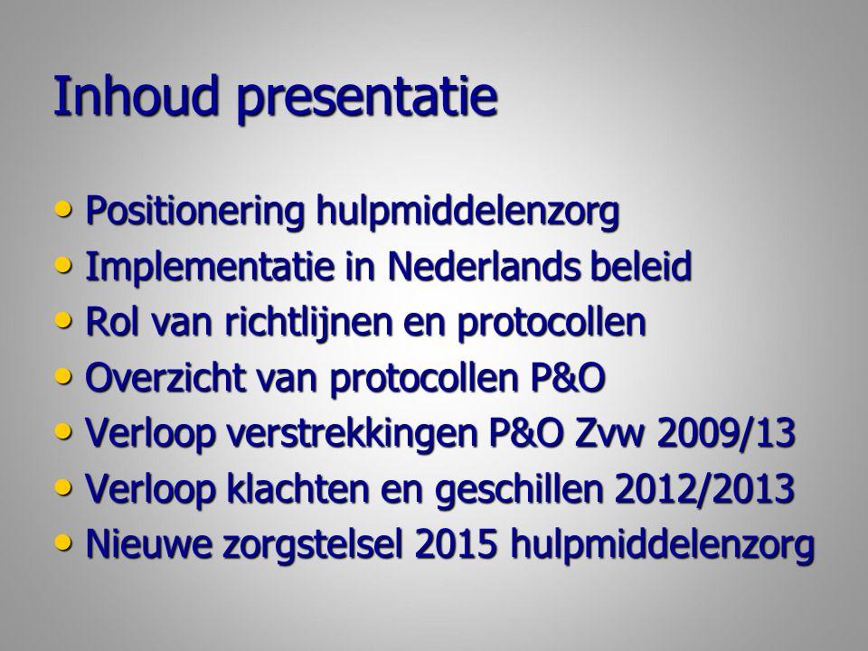 P&O protocollen voor professionals Voet-schoenprotocol: NVOS-Orthobanda (Npi); 2007 Voet-schoenprotocol: NVOS-Orthobanda (Npi); 2007 Beenprotheseprotocol PPP met annex AAK PPP- Stuurgroep; 2009/2014 Beenprotheseprotocol PPP met annex AAK PPP- Stuurgroep; 2009/2014 Ortheseprotocol been, romp en arm NVOS- Orthobanda; 2012 Ortheseprotocol been, romp en arm NVOS- Orthobanda; 2012 Beenorthesen bij neuromusculaire aandoeningen AMC/VU; 2013; Beenorthesen bij neuromusculaire aandoeningen AMC/VU; 2013; Armprotheseprotocol PPP Arm Stuurgroep; 2014/2015 Armprotheseprotocol PPP Arm Stuurgroep; 2014/2015