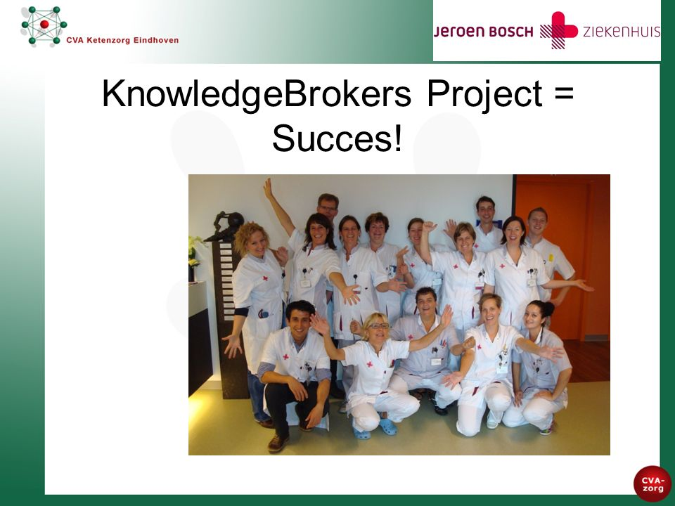 KnowledgeBrokers Project = Succes!