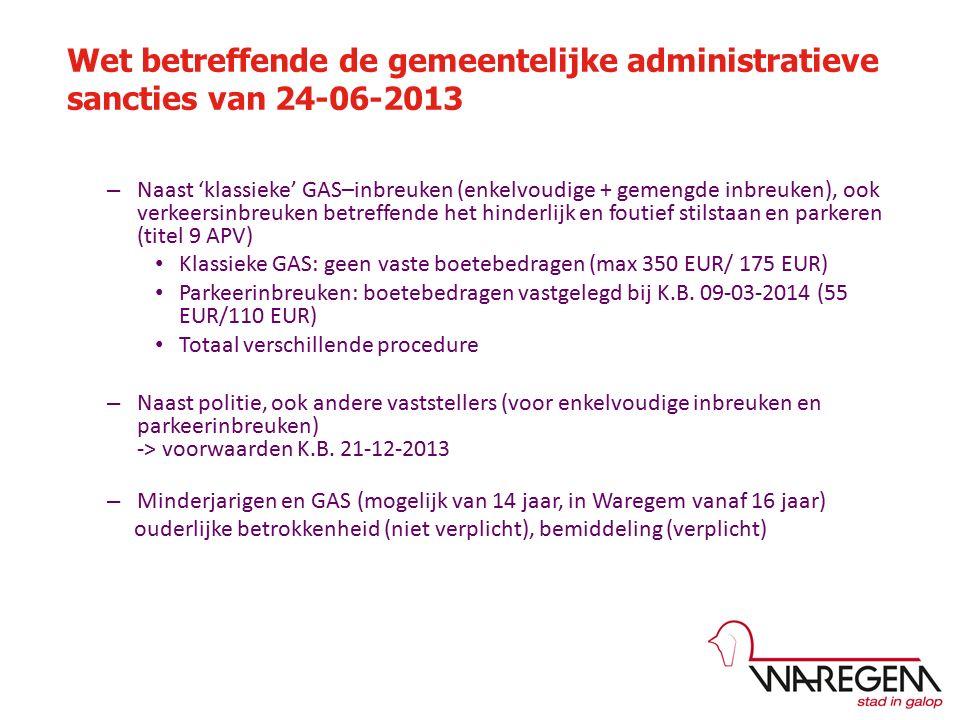 Procedure minderjarigen Procedure meerderjarigen PV Bemiddeling (facultatief) Gemeenschapsdienst (max.