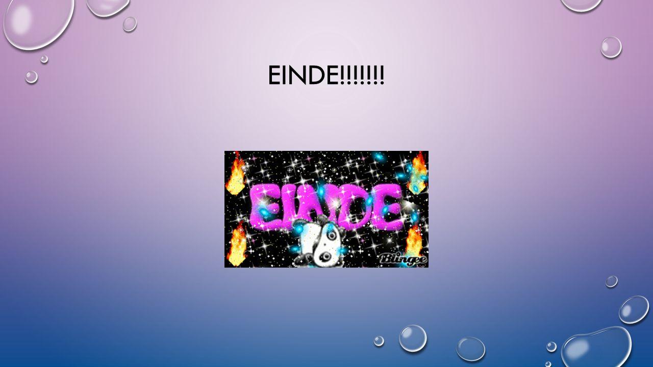 EINDE!!!!!!!