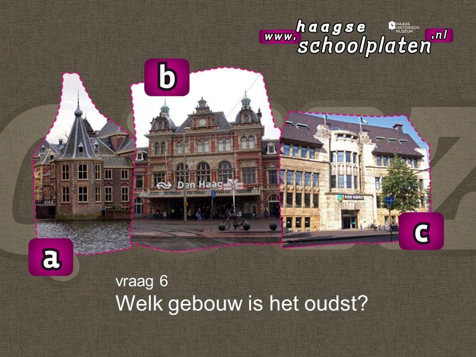 vraag 7 Welke gebouw is een museum? (meerdere antwoorden mogelijk)