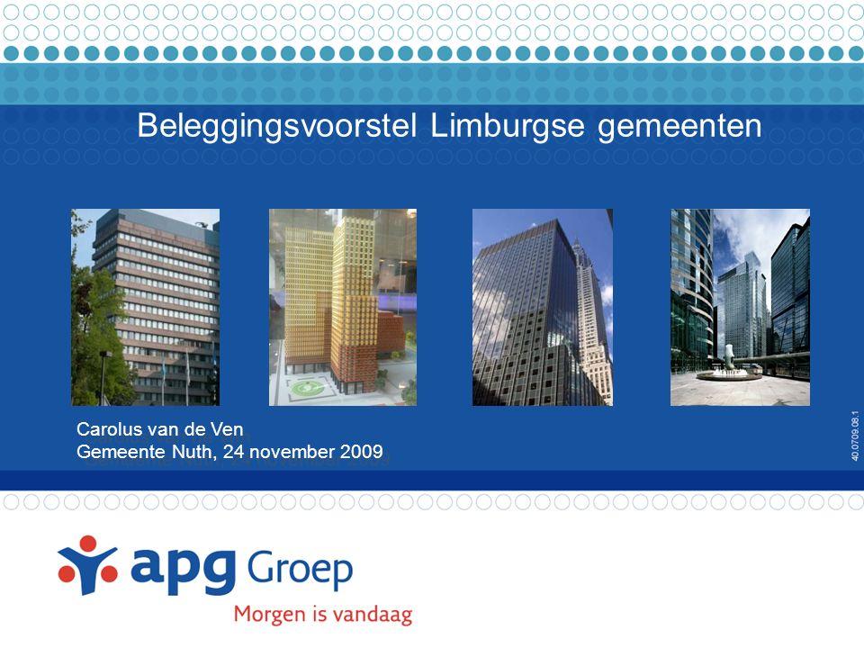 2 Agenda Beheerder en Bewaarder Randvoorwaarden belegging Fido / Ruddo Beleggingsrichtlijnen APG-IS Garantie Fonds