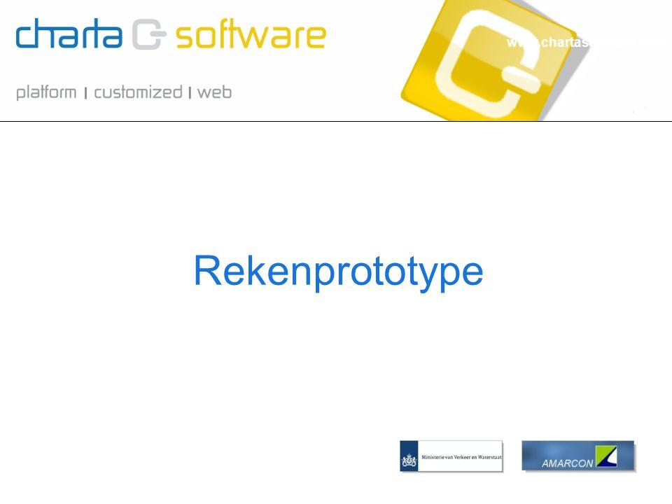 www.chartasoftware.com Rekenprototype