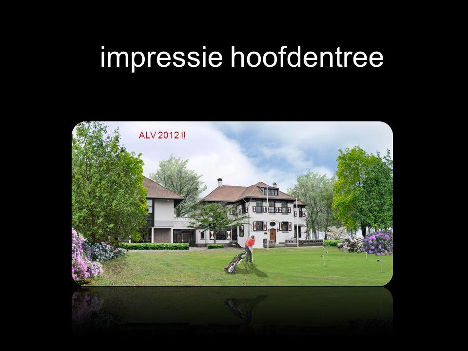impressie hoofdentree ALV 2012 !!