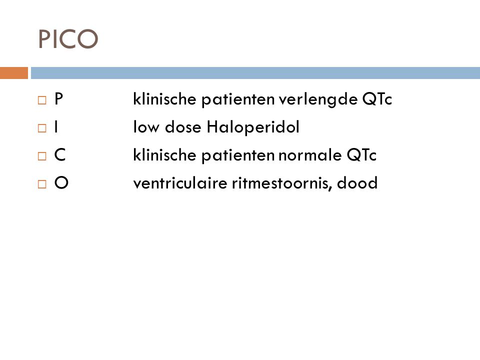 Zoekresultaten ( Haloperidol [Mesh] OR haloperidol[tiab] OR haldol[tiab])) AND ( Long QT Syndrome [Mesh]))) OR (((( Haloperidol [Mesh] OR haloperidol[tiab] OR haldol[tiab])) AND (QT[tiab] OR QTc[tiab])) NOT medline[sb])  88 abstracts  12 full  3 relevant SearchAdd to builderQueryItems foundTime #16AddSearch (#11) OR #158808:51:00 #15AddSearch (#13 NOT medline[sb])1308:49:40 #14AddSearch (#13 NOT #11)13008:48:08 #13AddSearch (#6) AND #1219508:47:01 #12AddSearch (QT[tiab] OR QTc[tiab])1542008:46:54 #11AddSearch (#6) AND #107508:46:38 #10AddSearch Long QT Syndrome [Mesh]553608:41:52 #6AddSearch Haloperidol [Mesh] OR haloperidol[tiab] OR haldol[tiab]1987708:40:16