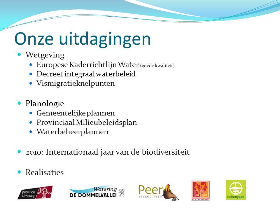 Onze inspiratie Participatieve initiatieven Overpelt: inplanting woonwijk (Charette) Praktijkervaring Lokale bevolking heeft kennis van het terrein Praten / betrokkenheid werkt Voorstelling E.