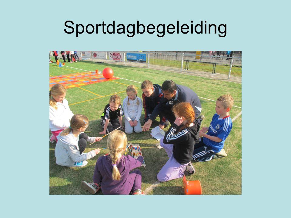 Sportdagbegeleiding
