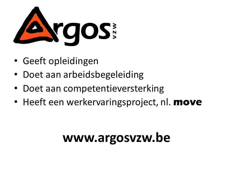 Geeft opleidingen Doet aan arbeidsbegeleiding Doet aan competentieversterking Heeft een werkervaringsproject, nl.