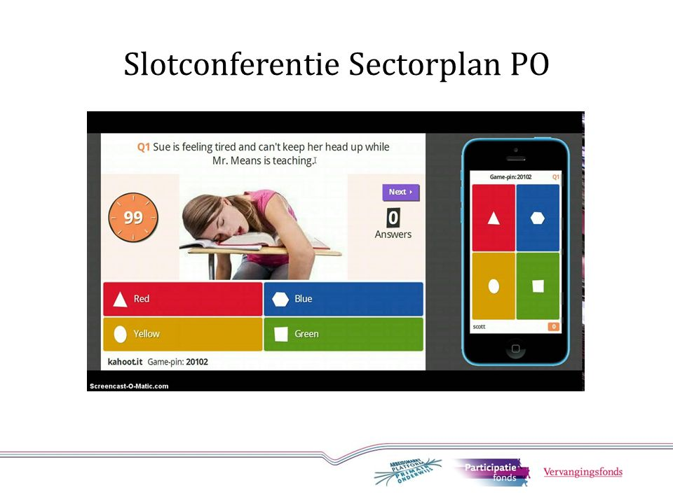 Slotconferentie Sectorplan PO