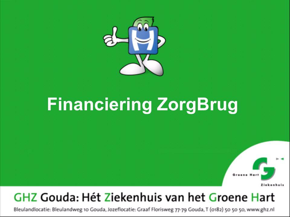 Financiering ZorgBrug