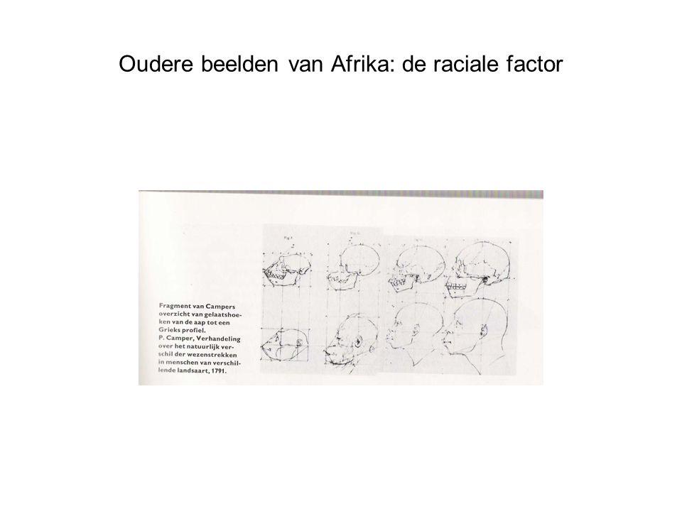Oudere beelden van Afrika: de raciale factor