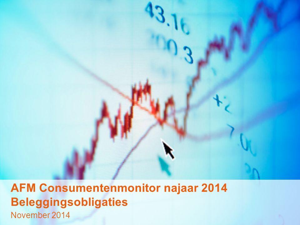 © GfK 2014 | AFM Consumentenmonitor | November 20141 AFM Consumentenmonitor najaar 2014 Beleggingsobligaties November 2014