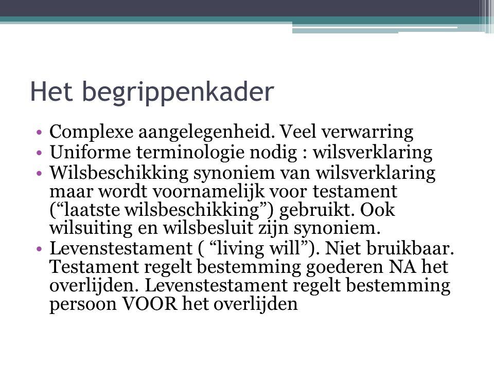 Intermezzo Zeg niet vertegenwoordiger tegen de vertrouwenspersoon en omgekeerd Vertrouwenspersoon staat een patiënt bij maar heeft geen enkele juridische bevoegheid om de rechten van die patiënt uit te oefenen.