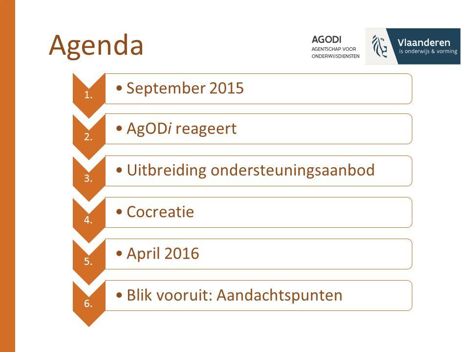 A.Uitbouw netwerk met stakeholders AgODi Binnenl.