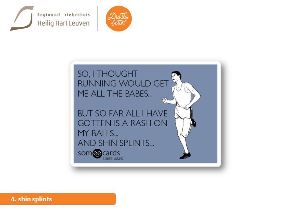 4. shin splints