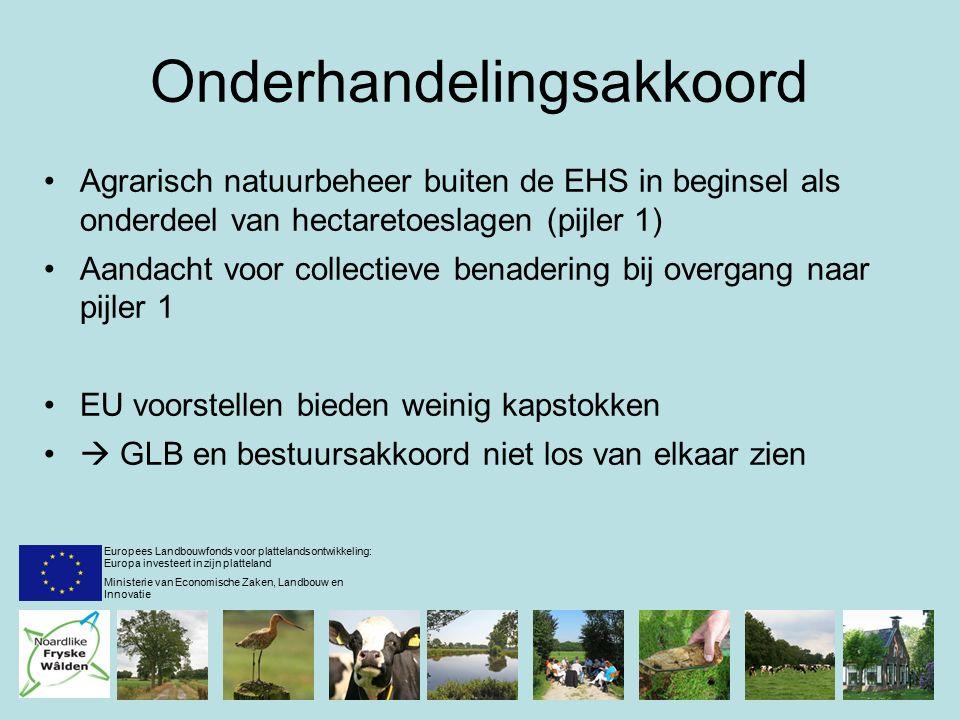 Ideeën en voorstellen pijler 1 Vergroeningswinst groter bij selectieve inzet middelen Vergroeningsmaatregelen afstemmen op gebiedskenmerken Vergroening op gebiedsniveau i.p.v.