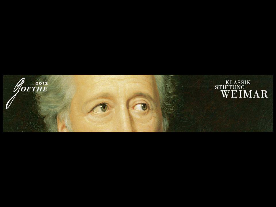 Tot aan zijn dood in 1832 blijft Goethe 57 jaar in Weimar