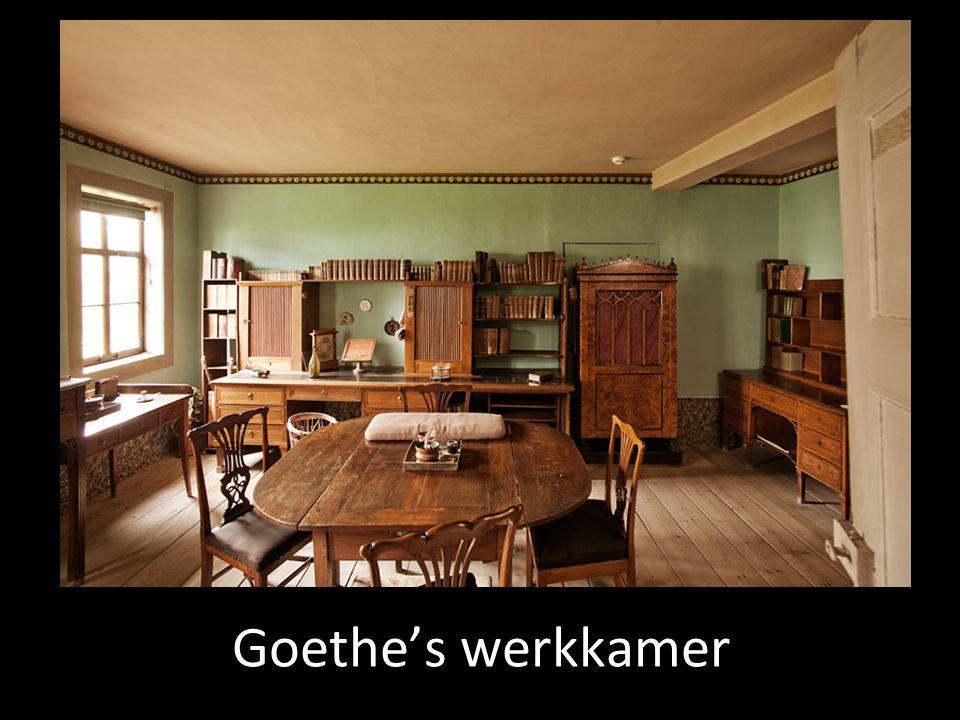 Goethe's werkkamer