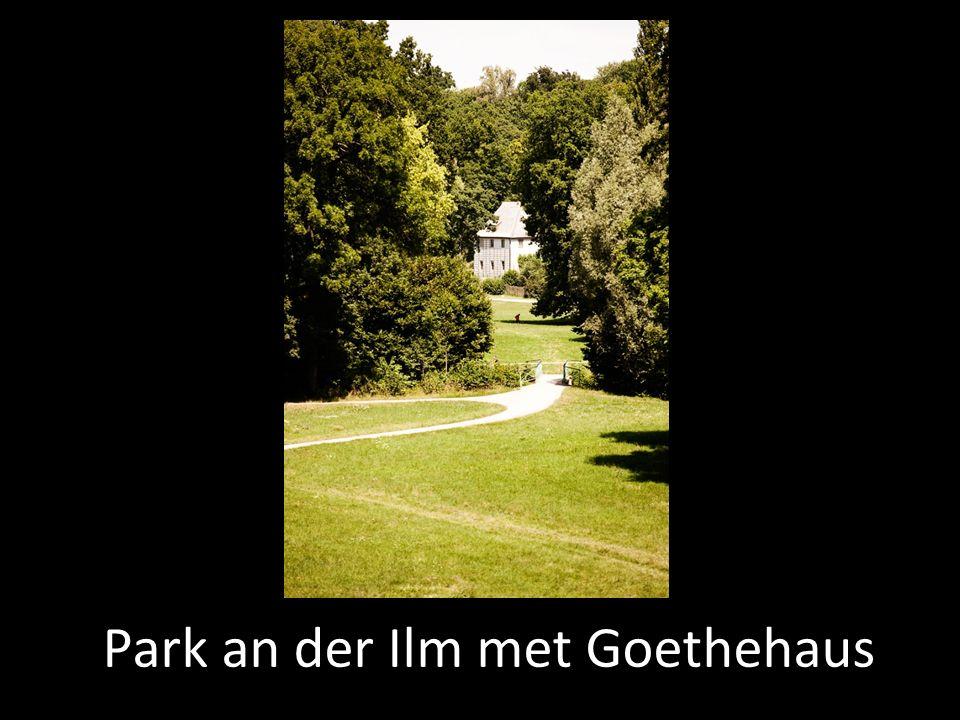 Park an der Ilm met Goethehaus