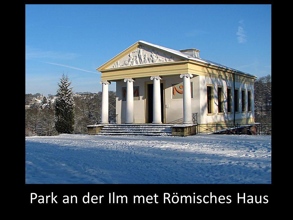 Park an der Ilm met Römisches Haus