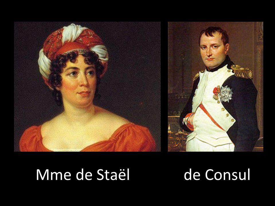 Mme de Staël de Consul